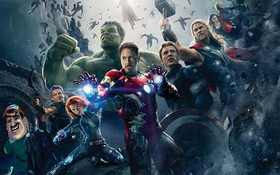 Yo con los Avengers