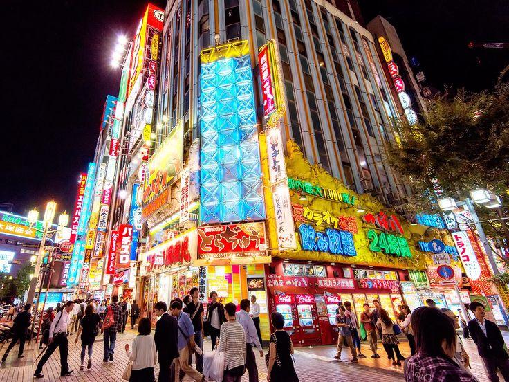 Kabukichō ( 歌舞伎町 ), Shinjuku ( 新宿 ), Tokyo ( 東京 ), Japan ( 日本 ) | photo by TokyoFashion - exact link: https://www.facebook.com/photo.php?fbid=10151654112136752
