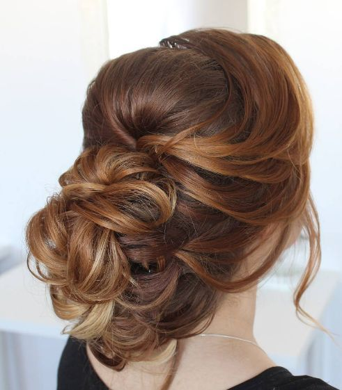 Long Wavy Hairstyle For Wedding 2: 1000+ Ideas About Wavy Wedding Hairstyles On Pinterest