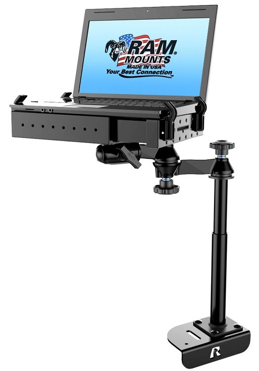 2014 - 2015 Ford Transit Full Size Van no-drill laptop mount