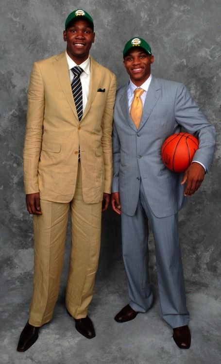 Kevin Durant & Russell Westbrook as rooks