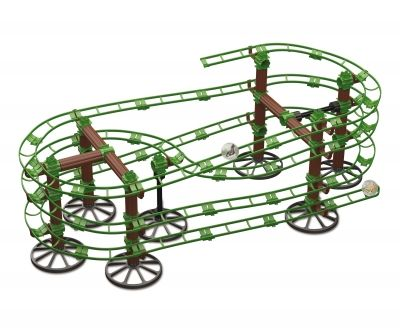 "Quercetti ""Skyrail"" Jurassic racing set"