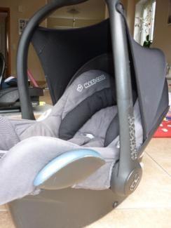 MaxiCosi CabrioFix in Grau meliert in Nordrhein-Westfalen - Moers | Kindersitz gebraucht kaufen | eBay Kleinanzeigen