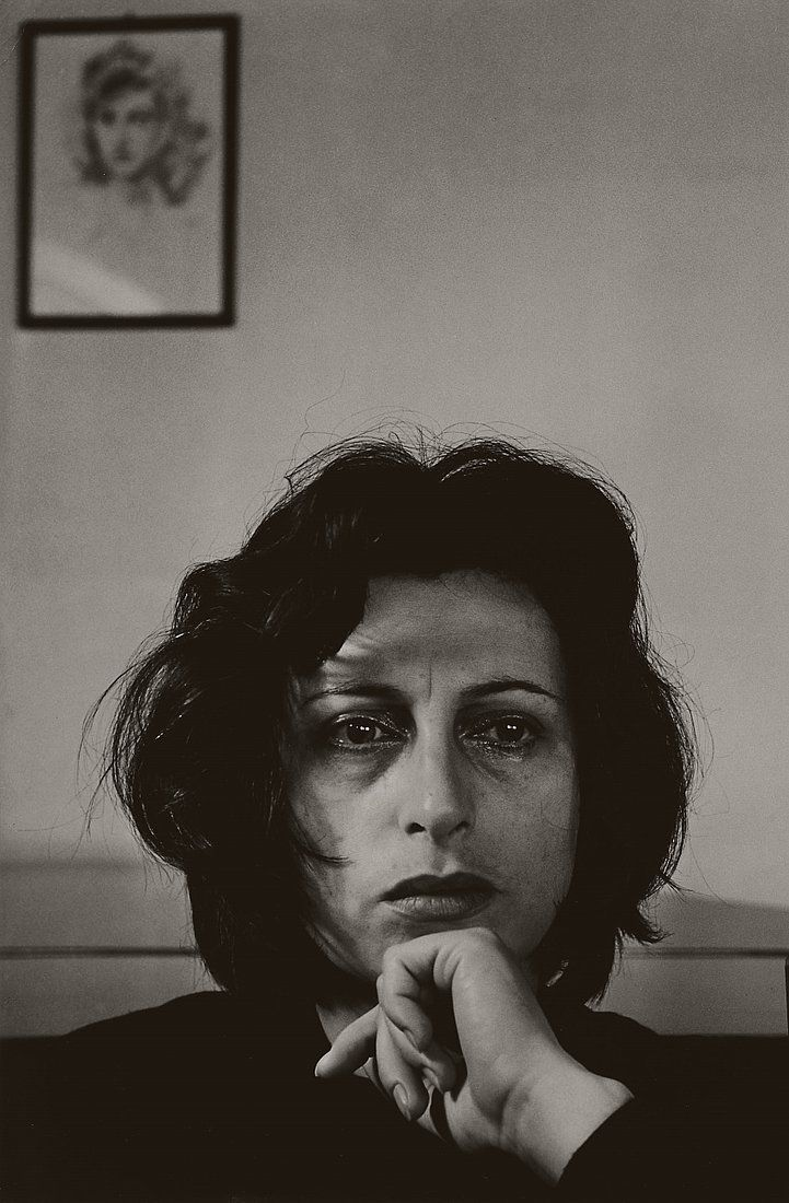 Herbert List, Anna Magnani 1, San Felice, Italy, 1950