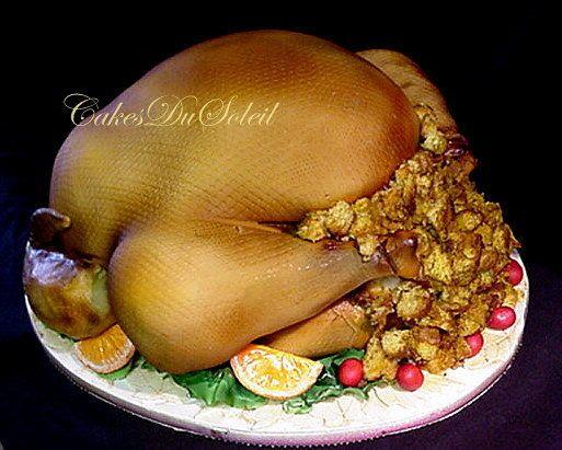 ~ Sugar Teachers ~ Cake Decorating and Sugar Art Tutorials: Holiday Roast Turkey....Cake that is!!!!