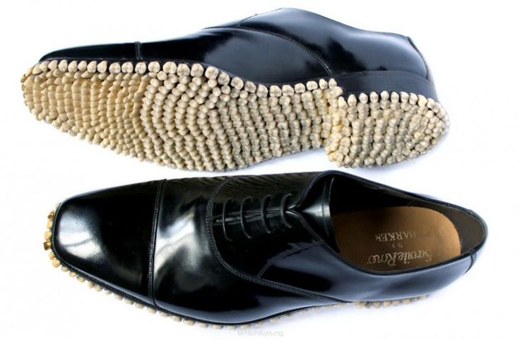 Apex Predator Shoes Made Of 1,050 Teeth - OhGizmo!