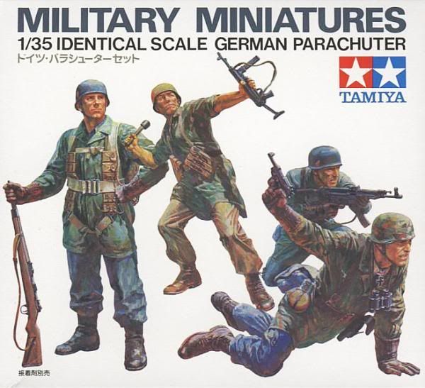 Tamiya Box Art - German Paratroopers