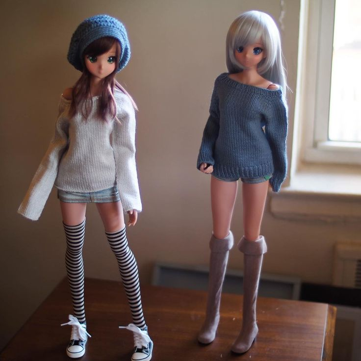 Smart Doll Ebony and Chitose Kasshoku by sapi3512