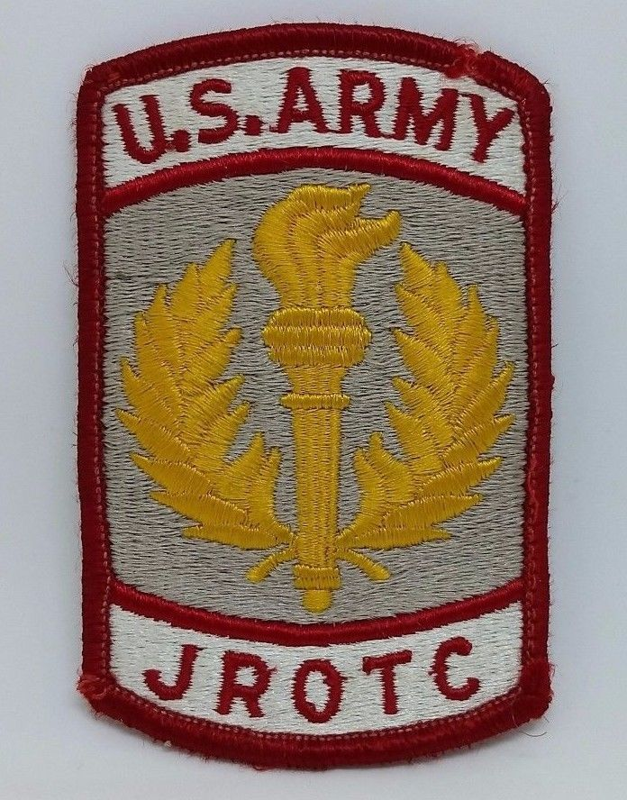 US Army JROTC Embroidered Patch Junior Reserve Officer Training Corps #Patch