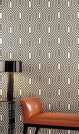 Modern graphic wallpaper: Osborne  Little's 'Minaret' | Flickr: Intercambio de fotos