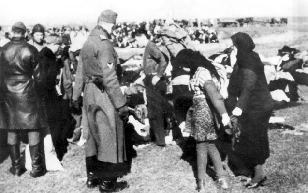 """the massive murder of the innocent jews in the holocaust Originally answered: why did hitler kill 6 million jews hitler regarded the holocaust as racial self-defense adolf saw all of nature in the form of a spectrum, ranging from """"life-affirming"""" creatures to """"life-corrupters""""."""