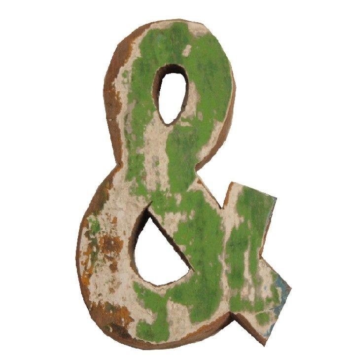 letters uit oud hout | Tips om zelf te maken: http://www.jouwwoonidee.nl/houten-decoratieletters-maken/