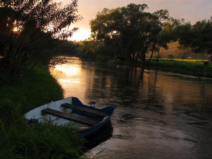 Sázava river