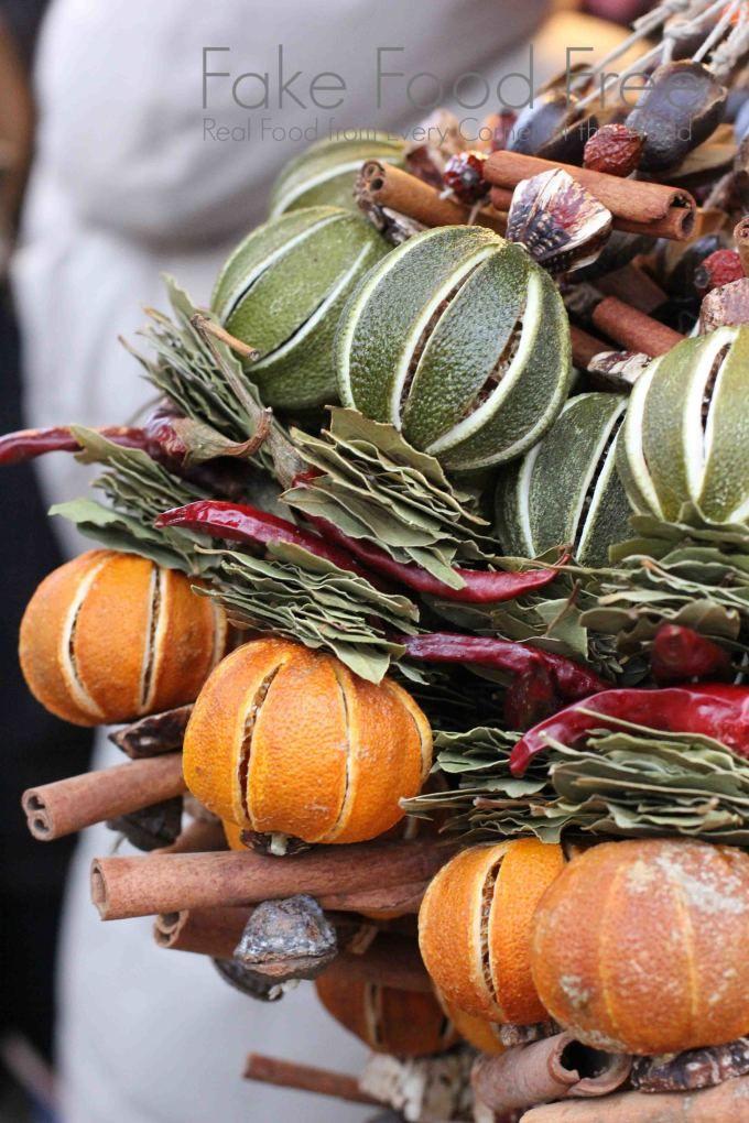 Holiday decorations at Vienna's Christmas Markets | Fake Food Free