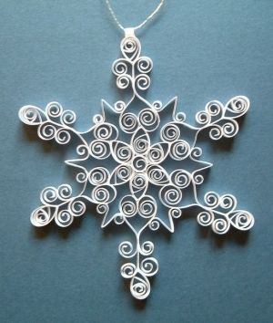 quilled snowflake patterns - Bing Images