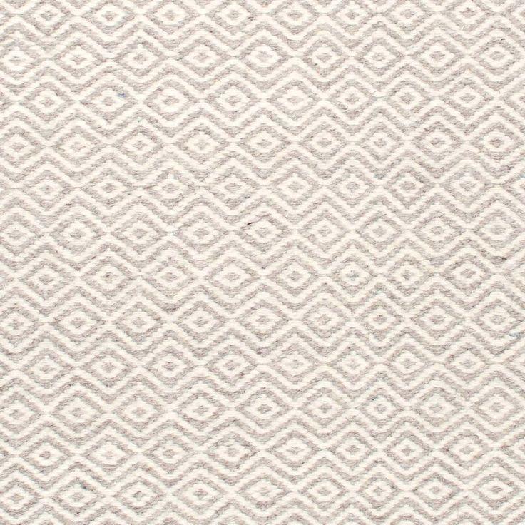 ullmatta Diamond vit natur, en handvävd matta ull, smutsavvisande och slitstark. hallmatta, köksmatta, vardagsrumsmatta gåsöga, sovrumsmatta, barnrumsmatta.