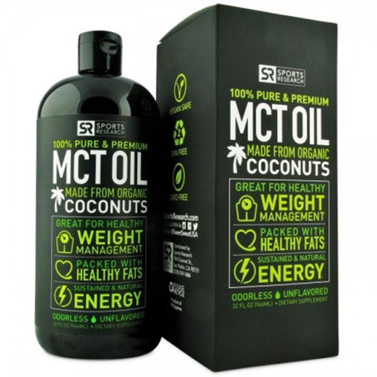 What Is It: MCT oil is a fatty acid that will protect your body is numerous ways - Increase Focus through improved brain health - Improve skin quality through cell regeneration - Improve cardiovascula