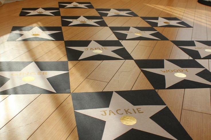 DIY Star Walk of Fame   A Beverly Hills Bachelorette