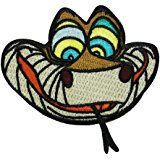 Jungle Book Snake Kaa Iron-On Craft Patch Disney Character Embroidered Applique