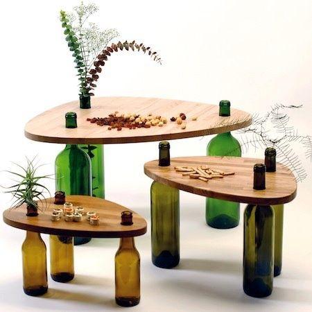 Ideas para decorar con botellas, de vidrio, de plastico, frascos... Descubre como puedes decorar tu hogar con sencillas y recicladas botellas.