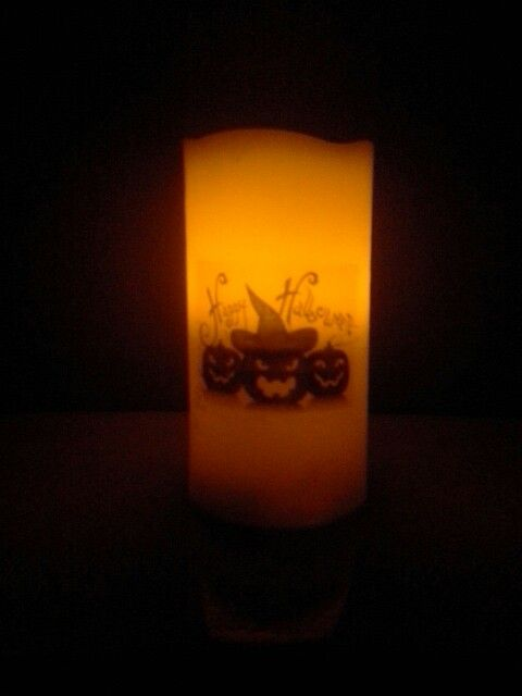 Halloween Candle.  Lots of designs. https://m.facebook.com/personalised.candles.for.all.occasions