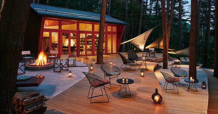 圧倒的非日常感を追求した日本発のラグジュアリーホテル「星のや富士」をご案内します。