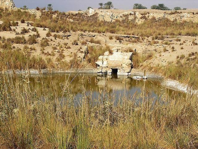 Sacred Lake of the Sanctuary of the Goddess Nekhbet at Nekheb (Eileithyiaspolis), in the 3rd Sepat (nome) of Upper Egypt. Normally termed 'Divine Lake', but also given specific names, the purpose of the Sacred Lake is both ritual and symbolic...