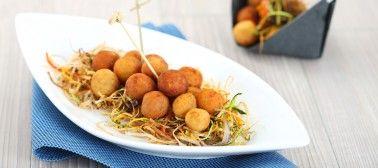 L'ora di pranzo ha l'oro in bocca! Ecco le nostre pepite d'oro e sgombro  #recipe #ricetta #sgombro #food