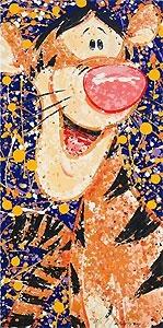 WWinnie the Pooh - Rock and Roar - Tigger- David Willardson - World-Wide-Art.com - #davidwillardson #disney