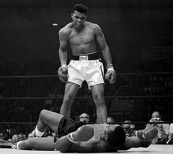 Muhammed Ali ~ One of the most outstanding sports performers ever.