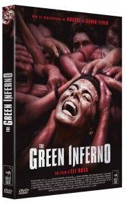 Céline Online _ The Green Inferno d'Eli Roth _affiche dvd