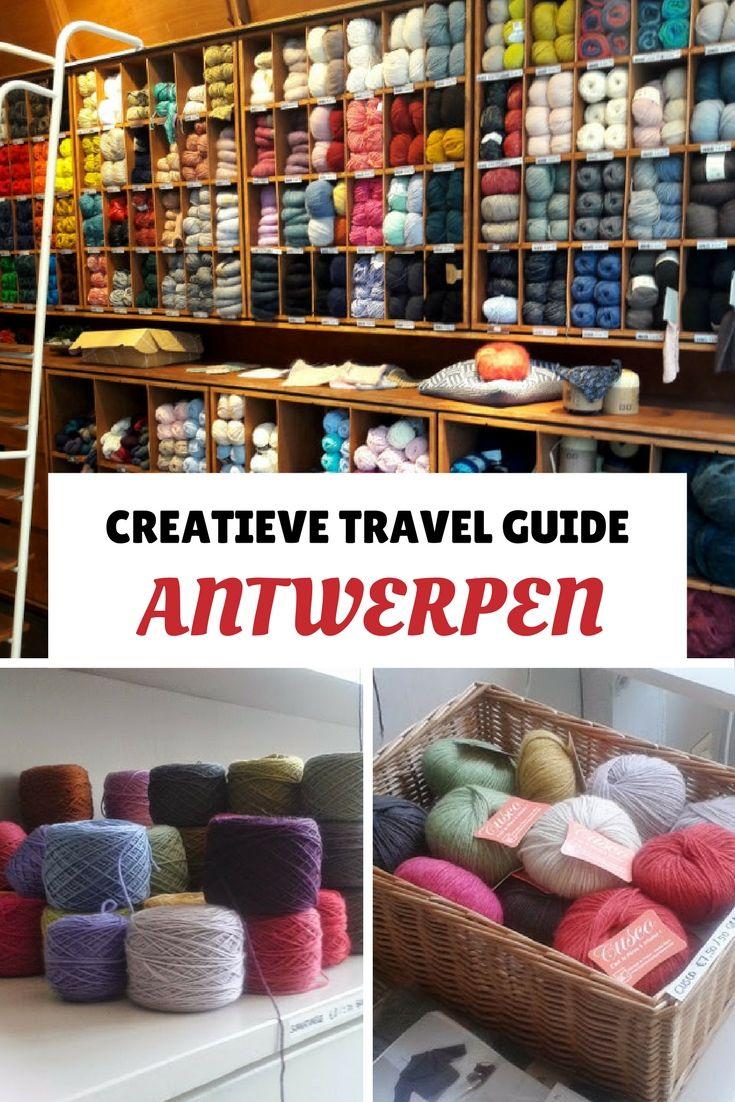 Creatief weekendje Antwerpen? Vind de leukste creatieve winkels in Antwerpen! Bekijk alle tips in deze creatieve travel guide.