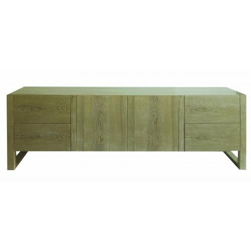 Limed Oak TV Unit