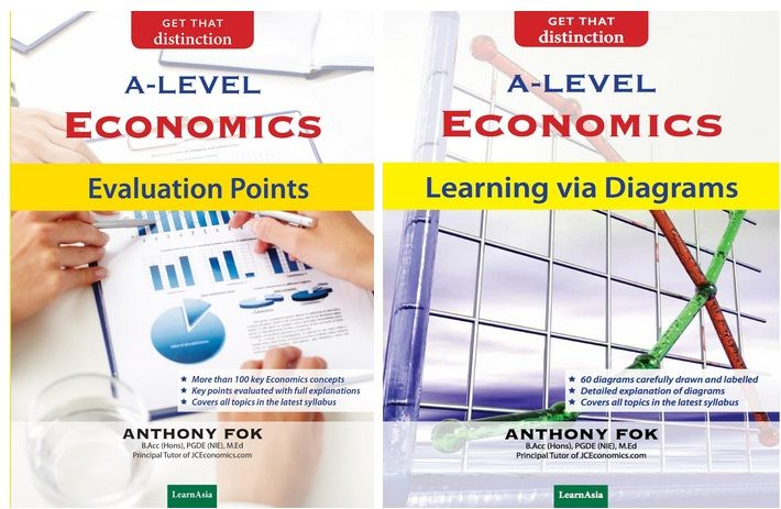 A-Level Economics Evaluation Points A-Level Economics Learning Via Diagrams   Published by MarketAsia Distributors (S) Pte Ltd Author: Mr Anthony Fok Remarks: Available at Popular Bookstores (Limited Copies)