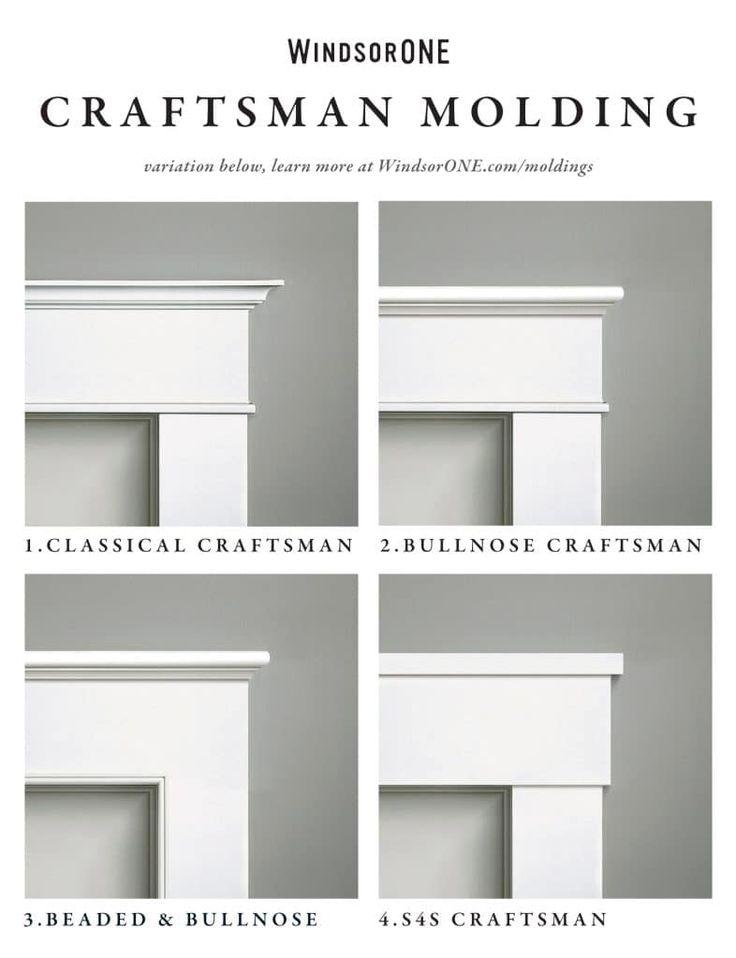 Best 25 craftsman trim ideas on pinterest diy interior - Craftsman style exterior trim details ...