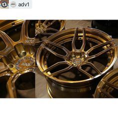 Best deals on #adv1wheels are at #vividracing email sales@vividracing.com for a quote!  R35 GT-R Newborns | @vividracing  Wheel Specs:  ADV005 M.V2 SL  50/50 Exposed Hardware Finish: Brushed Gloss Cognac  20x10 | 20x12  #adv1 #thewheelindustry #adv1newborns #nissan #gtr #r35 #nismo #jdm #adv1wheels #forged #cars #stance #hellaflush #forgedwheels #customwheels