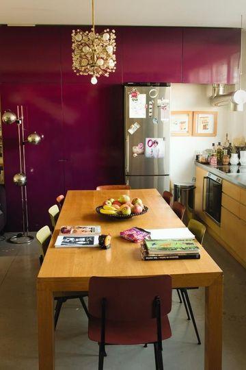 1000 id es sur le th me murs prune sur pinterest couleur for Cuisine aubergine quelle couleur sur les murs