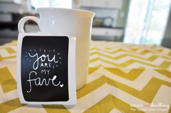 Fantastic simple gift idea!  Delineate Your Dwelling