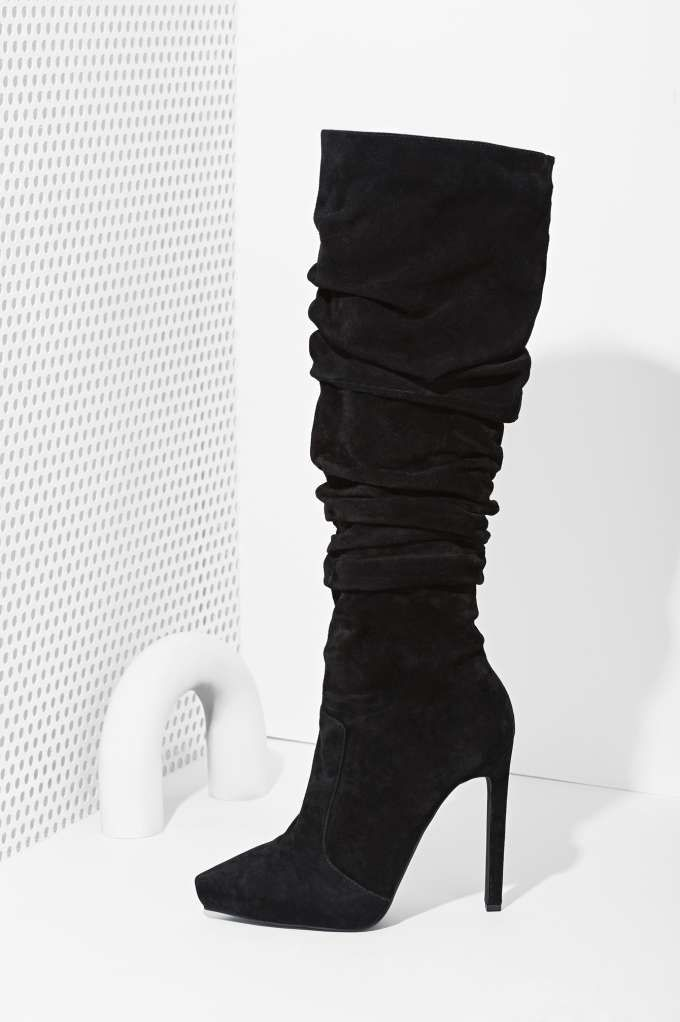 Jeffrey Campbell Alamode Suede Boot   Shop Shoes at Nasty Gal