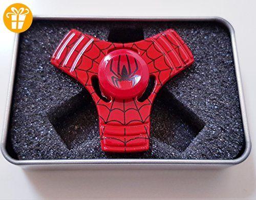 cls Fidget Spinner Hand Spinner Mini cooles Design Spiderman -Spielzeug für Kinder und Erwachsene Anti-Stress und Anti-Langeweile Perfekte abgestimmtes Kugellager - Fidget spinner (*Partner-Link)