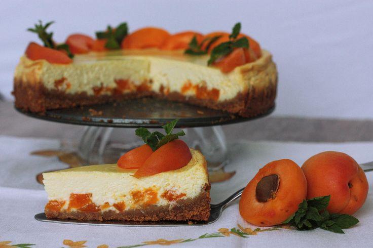 Bazový cheesecake s marhuľami - Powered by @ultimaterecipe