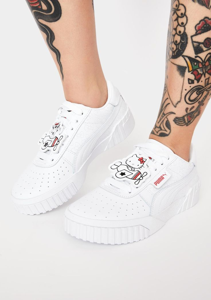 PUMA X Hello Kitty Cali Sneakers Dolls Kill Sneakers