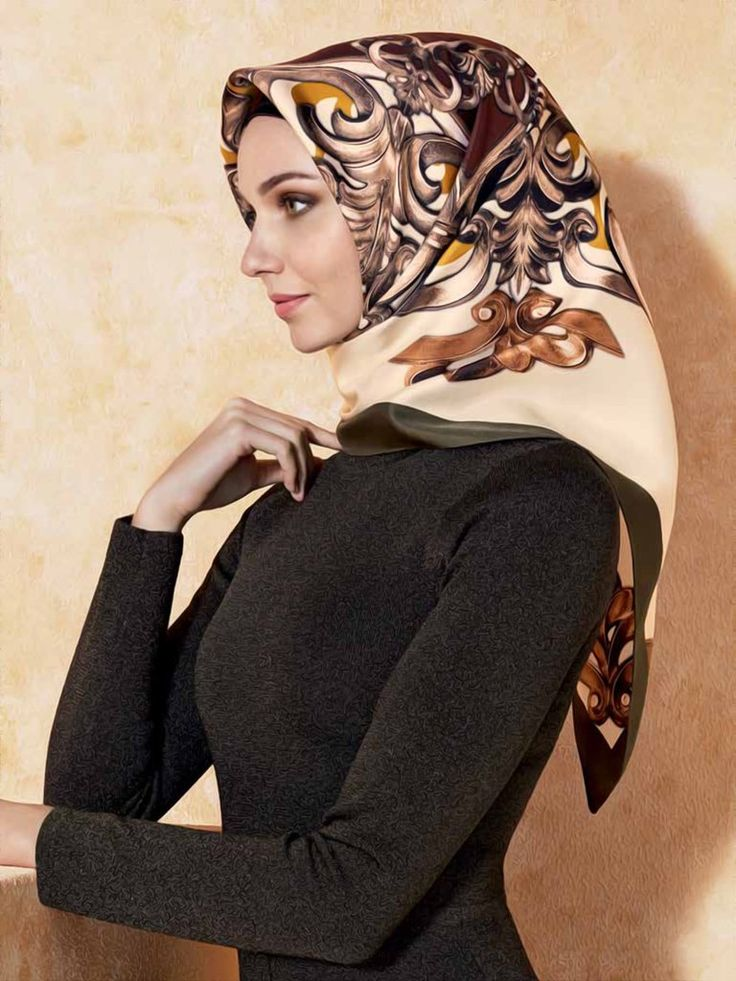Armine : A Sophisticated Hijab Fashion Style with Free Shipping - Beautiful Hijab Styles