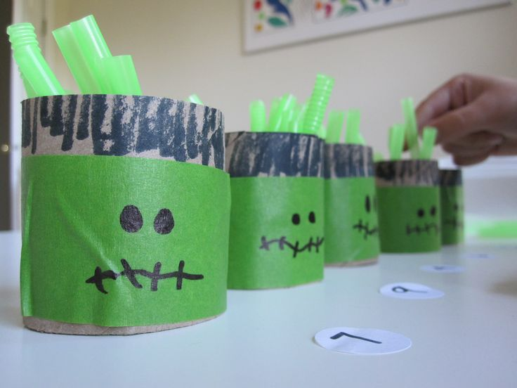 halloween math count and fill frankenstein - Online Halloween Math Games