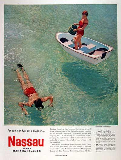 1959 Nassau Bahamas Tourism