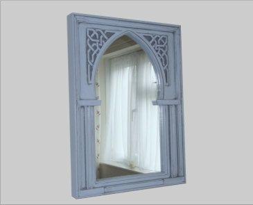 Small Moorish Wall Mirror by FrameFocus on Etsy