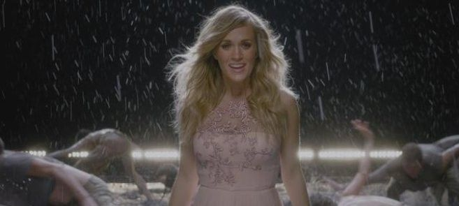 """Have you heard Carrie Underwood's new song """"Something in the Water,"""" about baptism and her faith? #carrieunderwood #somethinginthewater #baptism"""