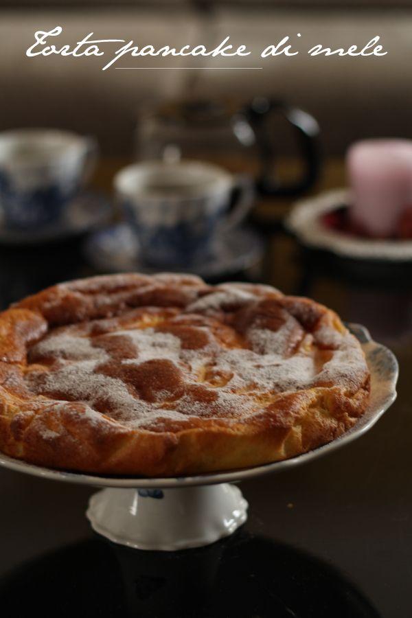 La Cucina dello Stivale: Torta pancake di mele