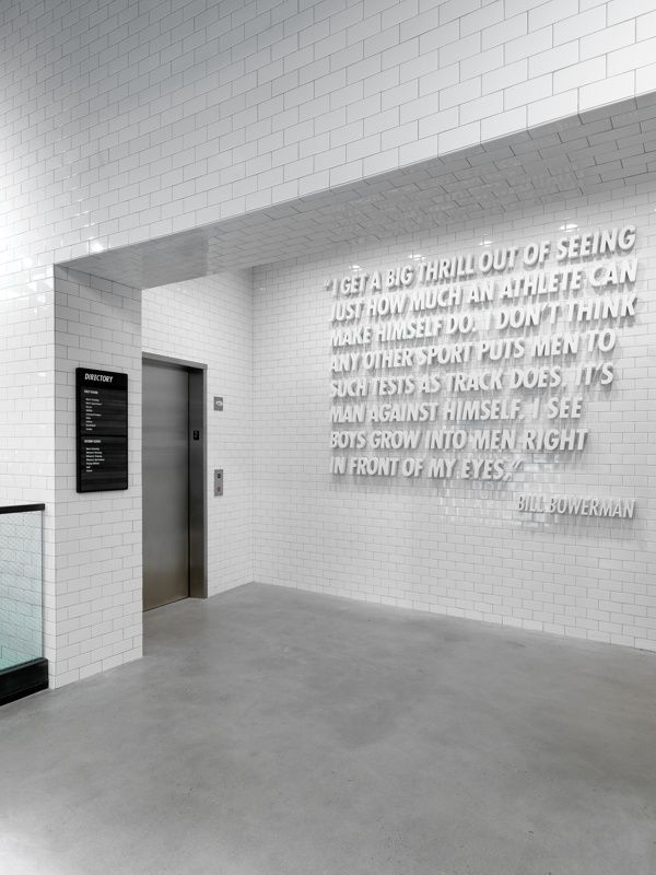 I enjoy the quote and the execution, a nice Minimal Bold, could totally be a lab.