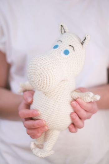 Moomin amigurumi free pattern by TSATT, thank so for sharing xox